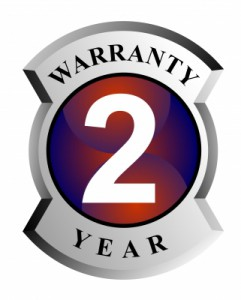 Your auto warranty is good for 2 years or 24,000 miles!!!